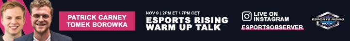 Присоединяйтесь к Esports Rising 2020 Присоединяйтесь к Warm Up Talk в Instagram Live