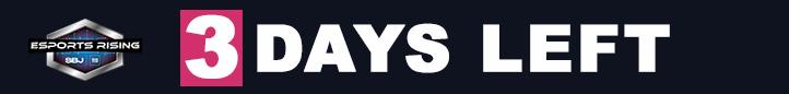 Осталось всего 3 дня: Esports Rising 2020 - Зарегистрируйтесь сейчас